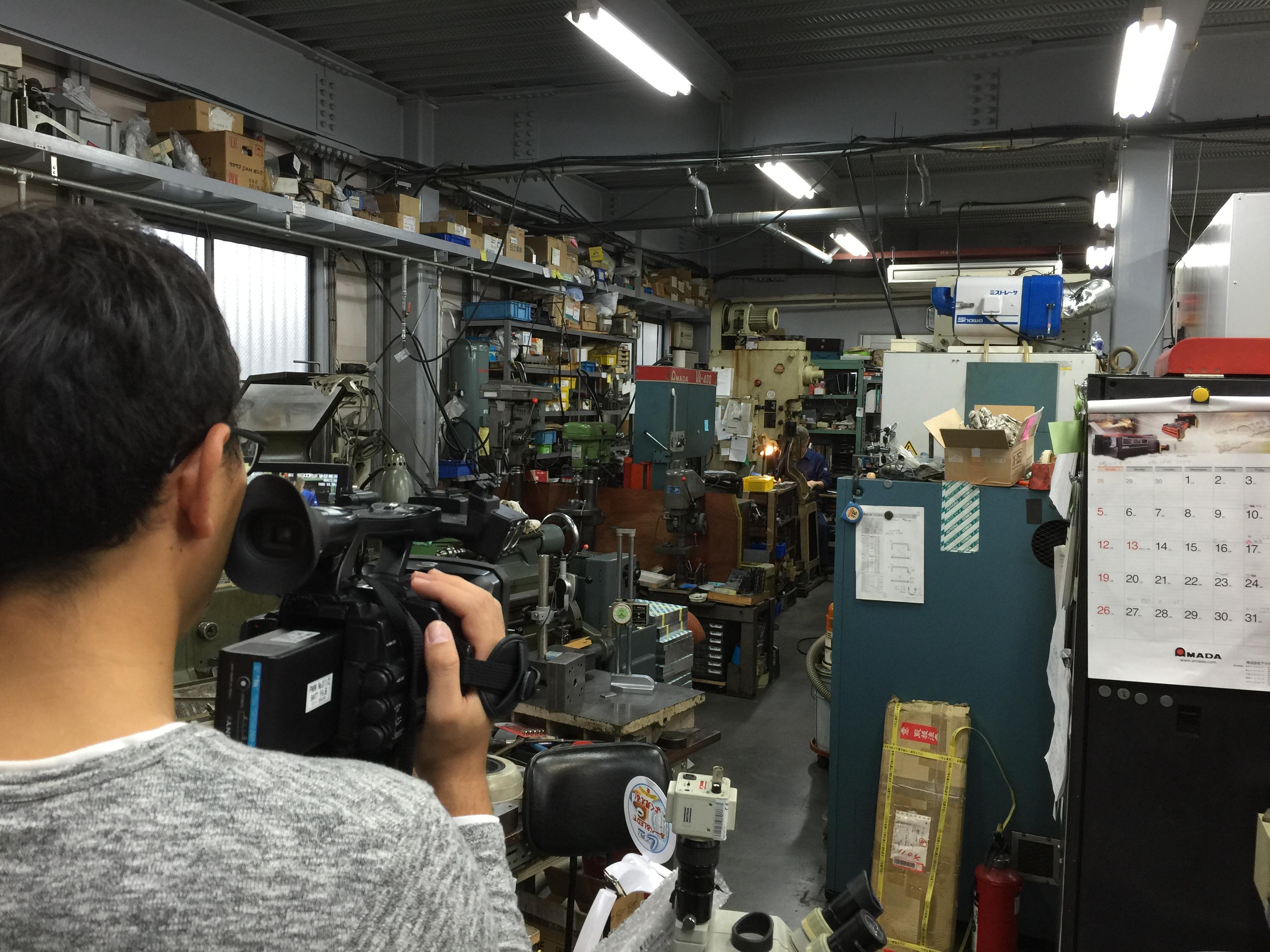 テレビ埼玉で、「バリアフリーラケット」の開発を取り上げて頂きました。